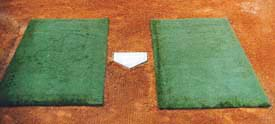 Original Jox Box Batter's Box Foundation Mat