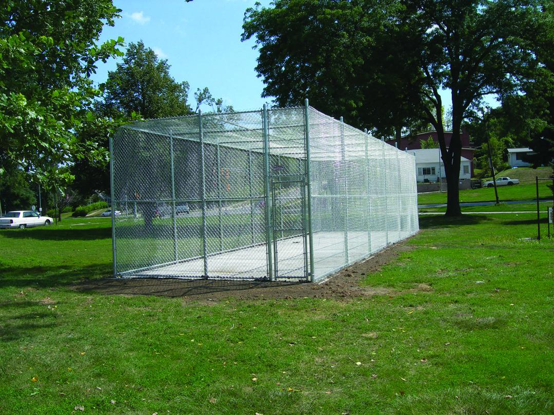 Fenced Batting Cage Frames Odeys