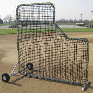Varsity Pitcher's L-Shaped Screen