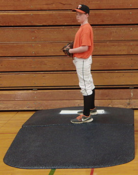 Portolite Full Wind-Up Practice Mound