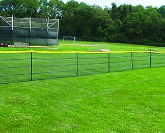Grand Slam In-Ground Temporary Fencing